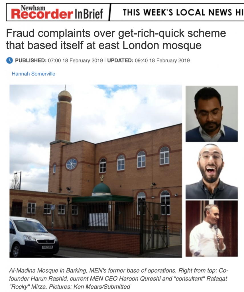 Rocky Mirza Exposed in London News